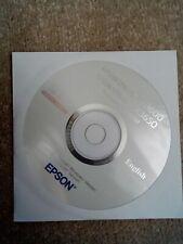 Epson Stylus CD-ROM Software CX3600/CX3650