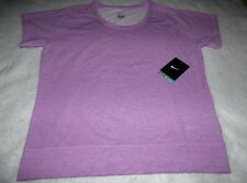 NIKE S SMALL DRI-FIT VIOLET SHOCK Lightweight Epic Crew T-Shirt NEW NWT 650851