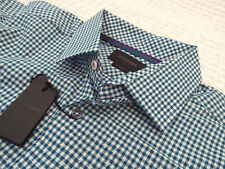 "DUCHAMP Mens Shirt 🌍 Size 16.5"" (CHEST 46"") 🌎 RRP £135+📮 GINGHAM STYLE CHECK"