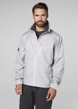 Helly Hansen Crew Shell Jacket 30263/820 Silver NEW