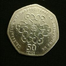 50p coin 'Girl Guiding' UK 2010 (Circulated)