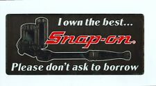 """NEW Vintage Snap-on Tools Tool Box Cabinet Sticker Emblem Decal Rat Rod SS792"