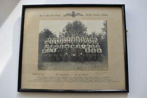 WW2  ORIGINAL  PHOTO RAF No.3 AIR CREW WING MADLEY 8 Squadron