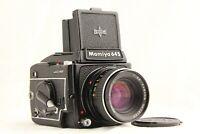 【 N.MINT 】 MAMIYA M645 1000S + SEKOR C 80mm f/2.8 + WaistLevel Finder from JAPAN