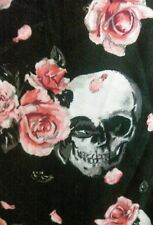 NWT Skull Rose HOT TOPIC Dress With Lace Corset Details Sexy Rocker Size 18 RARE
