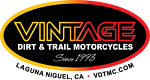 Vintage Dirt and Trail Motorcycles