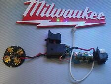 Milwaukee 18V-M1 2656-20,2658-20 Trigger Switch 23-66-2659 W/Brushes,22-22-2657
