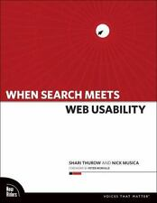 When Search Meets Web Usability by Thurow, Shari, Musica, Nick