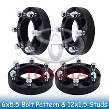 "1.25"" 6 Lug Hubcentric Wheel Spacers 6x5.5 6x139.7 Fits For Toyota Tacoma 01-17"