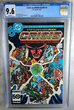 Crisis on Infinite Earths #3 D.C. 1985 CGC 9.6 NM+ White Pages Comic N0074