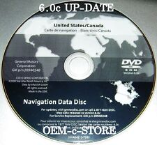 GM Navigation DVD Map 6.0c Fits ONLY 2006 2007 2008 2009 2010 2011 Cadillac DTS