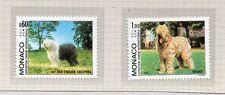 Monaco Exposición Canina Fauna Perros Serie del año 1982 (CU-155)