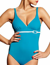 S (10) Chantelle Monaco Swimsuit 2017 Costume Non Wired Plunge Soft Cup Swimwear