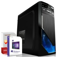 PC Dual Core Computer GAMER A6 5400k 8GB - 1TB - Rechner Komplett Windows 10