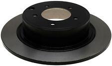 Disc Brake Rotor-Non-Coated Rear ACDelco Advantage 18A2470A