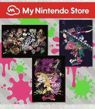 Splatoon 2 Final Fest Poster Set Nintendo Rewards Club Merchandise Brand New