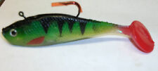 SOFT SHAD FISHING LURE  PIKE PERCH CHUB TROUT ZANDER BASS SEA NEW 12CM 35G
