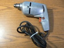 """Chicago Electric Var. Speed 3/8"""" Corded Reversing Drill - Heavy Duty, Vintage"""