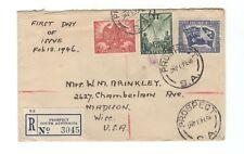 Australia FDC 18 Feb 1946, Peace WWII