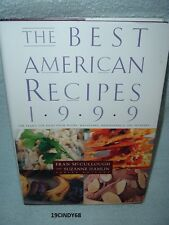 "1999 HARDCOVER COOKBOOK ""THE BEST AMERICAN RECIPES"""