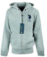 Boys Thermal Fleece Hoodie Jacket Toddler size 2 - 13 Years