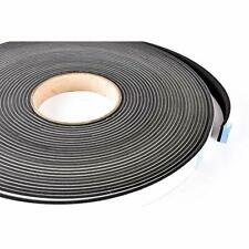 New listing Sponge Raw Materials Neoprene Stripping W/Adhesive 3/4in Wide X 1/8in Thick 50ft