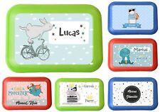 Lunchbox Brotdose für Kinder mit Name Junge viele Motive zur Auswahl Pirat