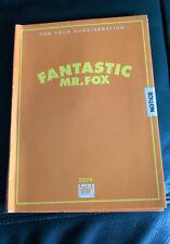 The Fantastic Mr Fox Animated original FYC DVD film
