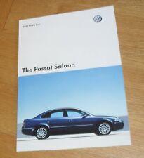Volkswagen VW Passat Saloon Brochure 2005 - SE Sport Highline V6 4.0 W8 1.9 TDI