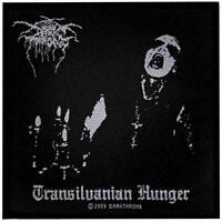 OFFICIAL LICENSED - DARKTHRONE - TRANSILVANIAN HUNGER SEW ON PATCH BLACK METAL