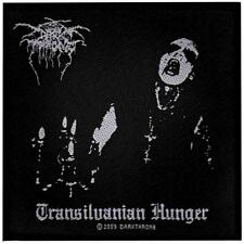 OFFICIAL LICENSED - DARKTHRONE - TRANSILVANIAN HUNGER SEW ON PATCH BLACK METAL
