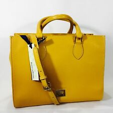 NWT DOONEY & BOURKE Janine satchel, leather, chamois MSRP $258