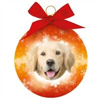 GOLDEN RETRIEVER DOG CHRISTMAS TREE BAUBLE IN GIFT BOX FAST DISPATCH UK SELLER