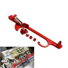 1Pc  4150 4160 Red Billet Aluminum Throttle Cable Carb Bracket Carburetor 350