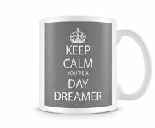 Keep Calm You're A Day Dreamer Grey - Printed Mug