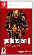Wolfenstein 2 the Colossus - Nintendo switch Importación inglesa