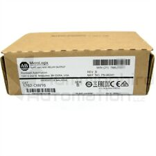 2020 2021 New Sealed Allen Bradley Micrologix 1762 Ow16 B Relay Output Module