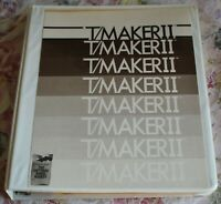 Vintage 1981 T/Maker II CPM software Users MANUAL Lifeboat Assoc. Peter Roizen