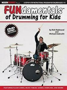 Modern Drummer Presents: FUNdamentals Of Drumming For Kids, Very Good Condition