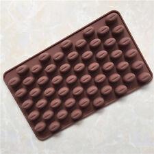 Classic Mini Chocolate Bean Coffee Bean Silicone Mold Ice Pattern DIY Bake Mold