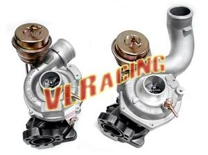 Twin Turbo Charger for Audi A6 Quattro ALLROAD 2.7L 99-04 K04-025 K04-026
