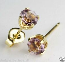 Studex Sensitive Gold 5mm Simulated Alexandrite June Birthstone Stud Earrings