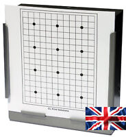 100 Air Rifle Shooting Paper 12 Dot Grid Targets 14cm Pistol Airsoft  (100gsm
