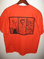 Dent Comics Comix Tall Girl Satan Devil Robot Monster Orange Black T Shirt XLrg