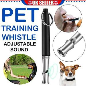 Metal ULTRASONIC Silent Recall DOG TRAINING WHISTLE SPECIAL TO STOP BARKING