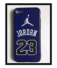 cover case carcasa coque funda iphone 7 8 Jordan tok capa hulle Housse soft Blue