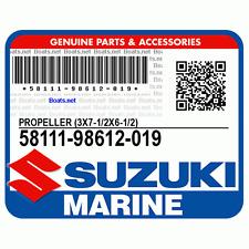 SUZUKI RICAMBI  ORIGINALE  FUORIBORDO ELICA  58111-98612-019