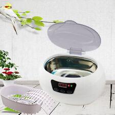 35W Pro Ultrasonic Cleaner Ultra Sonic Bath Jewellery CD Cleaning Basket
