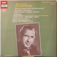 HANS HOTTER The Art of Hans Hotter 2-LP Bach, Handel, Schubert, Schumann, Wolf…
