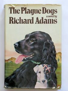 The Plague Dogs by Richard Adams, 1978 First American Edition, Hardcover